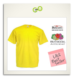 Fruit Of The Loom Heavy Cotton T-Shirts