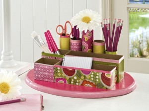 Recycling office supplies into crafts or d cor gopromotional blog Diy home decor blog uk