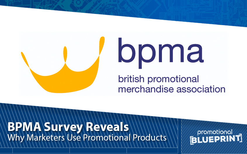 BPMA Survey Reveals Reasons Why Marketers Use Promotional Products