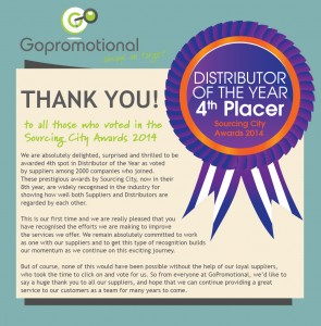 GoPromotional - Thank You