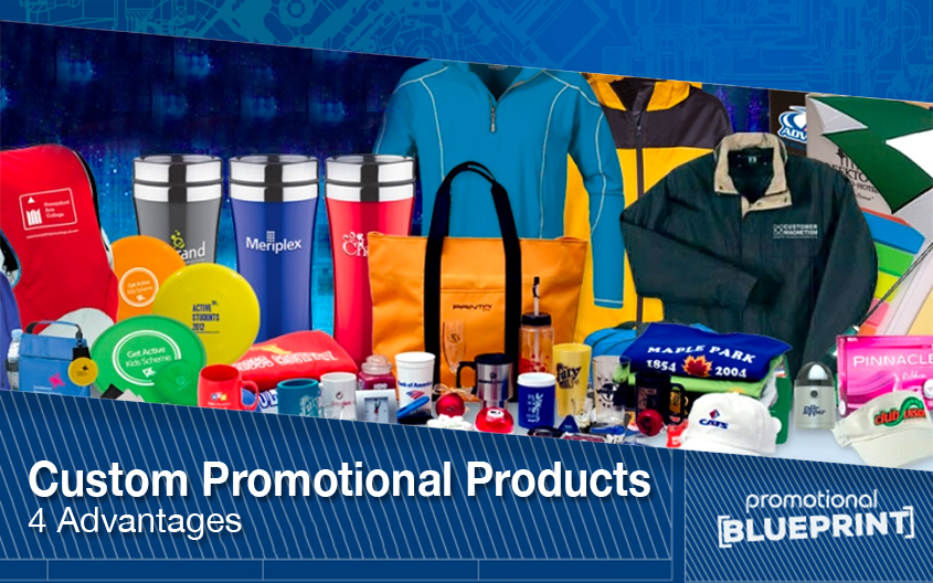 Custom Promotional Products – 4 Advantages