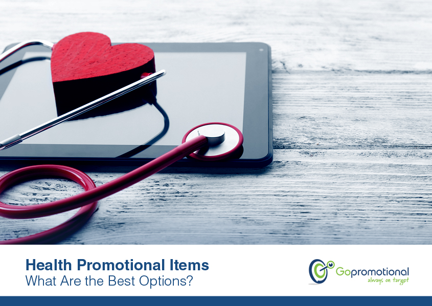 Health Promotional Items – What Are the Best Options?