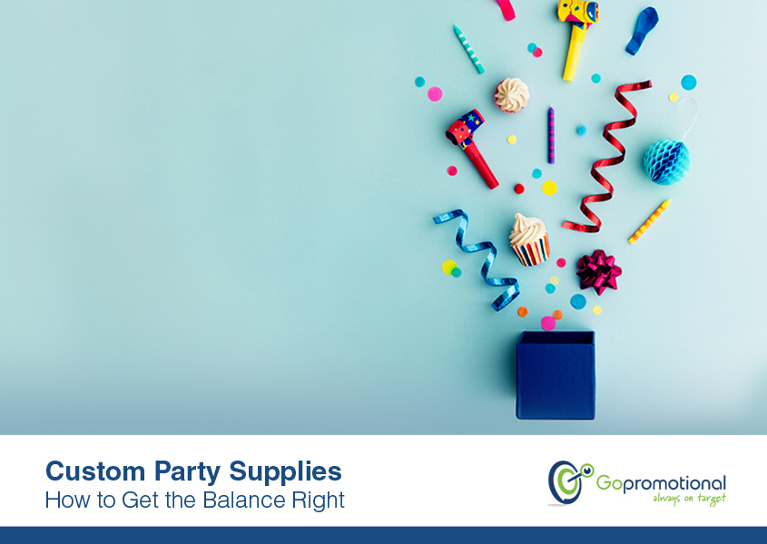 How To Get The Right Balance With Custom Party Supplies