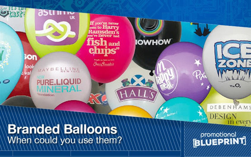 Branded Balloons – When Could You Use Them?