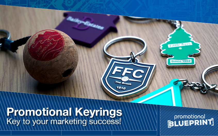 Why Promotional Keyrings Are 'Key' To Your Marketing