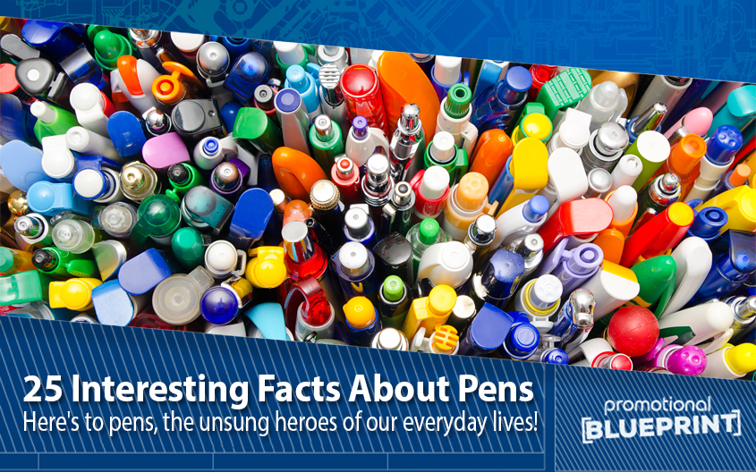 25 Interesting Facts About Pens