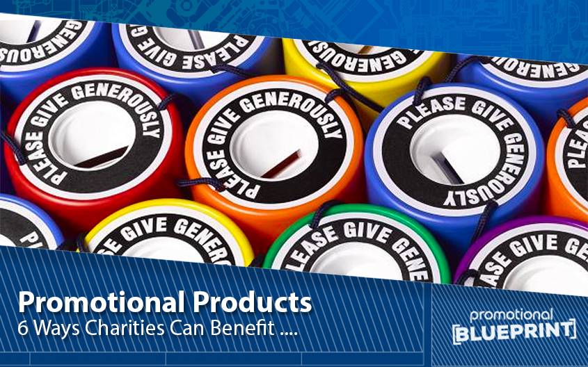 6 Ways Charities Can Benefit from Promotional Products