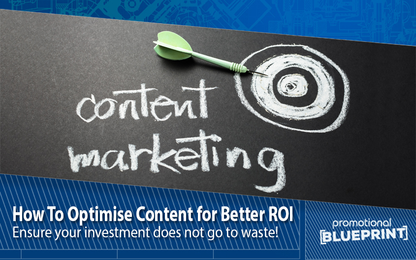How To Optimise Content for Better ROI