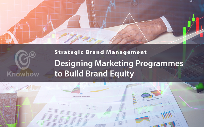 Designing Marketing Programmes to Build Brand Equity
